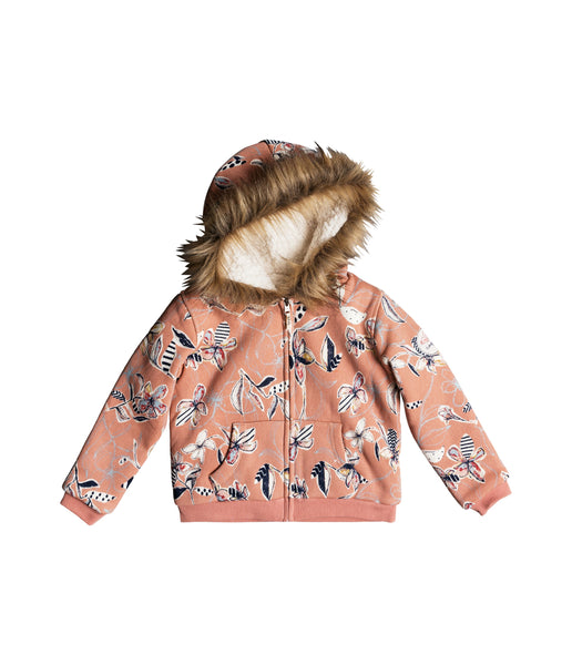 BUTTERFLIES HAVIN FUN ZIP UP HOODY (AGES 2-7)