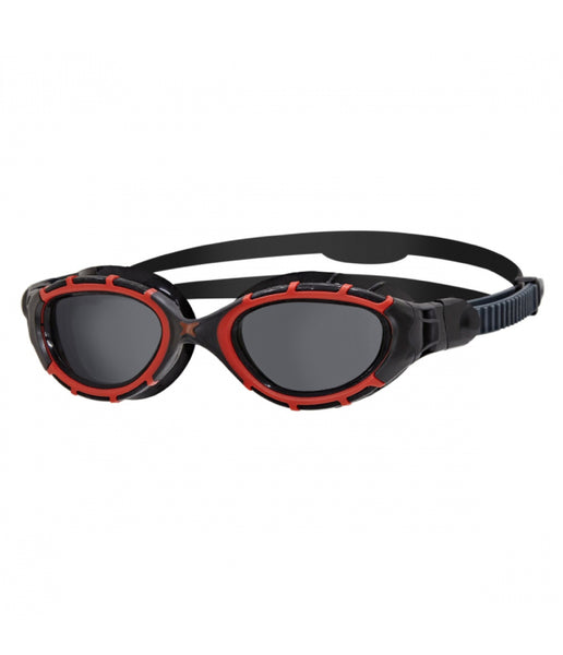 PREDATOR FLEXPOLARIZED - DARK LENS - BLACK/RED FRAME