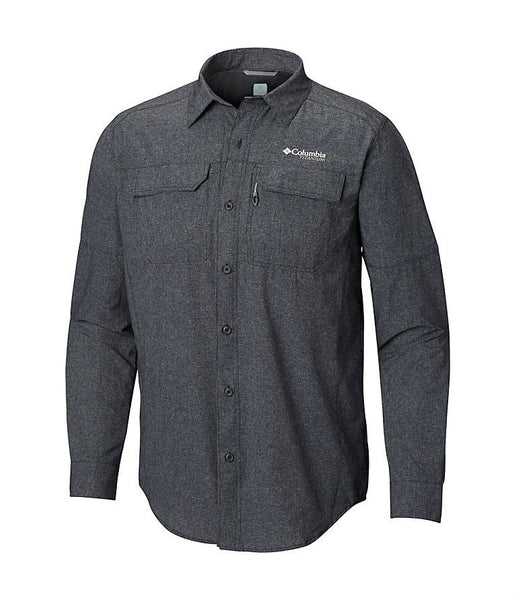 MEN'S IRICO LONG SLEEVE SHIRT - BLACK HEATHER