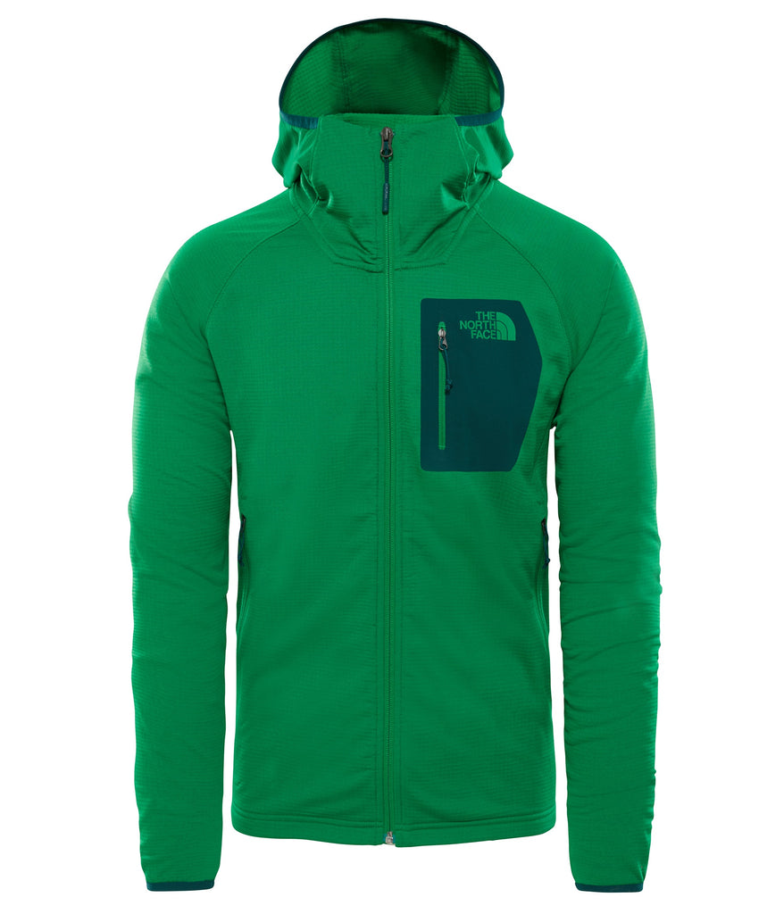 MEN'S BOROD HOODIE - PRIMARY GREEN