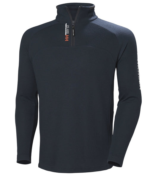 HP 1/2 ZIP PULLOVER - NAVY II