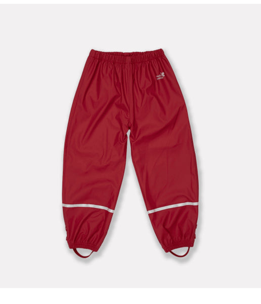 PUDDLEFLEX TROUSERS - BRIGHT RED