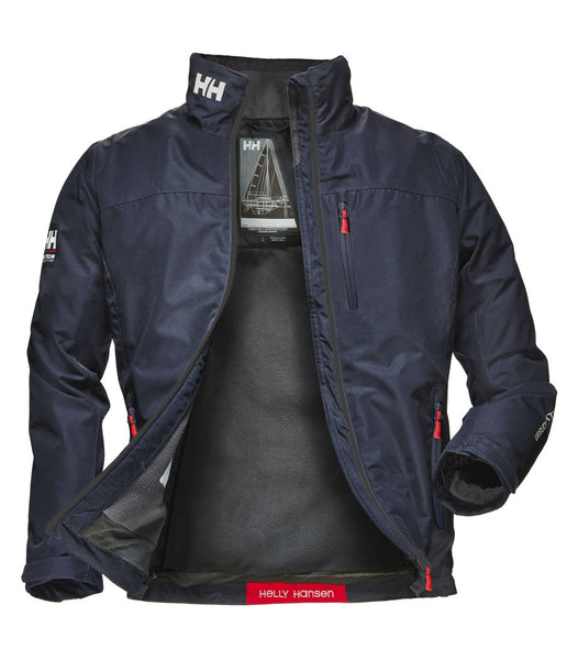 CREW MIDLAYER JACKET - NAVY