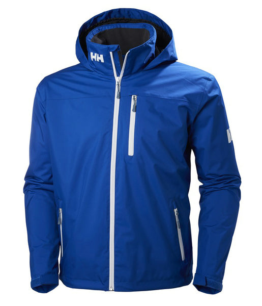 CREW HOODED MIDLAYER -OLYMPIAN BLUE