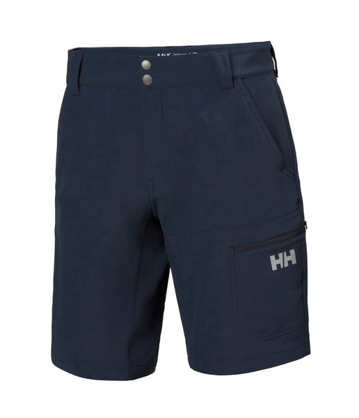 BRONO SOFTSHELL SHORTS - NAVY