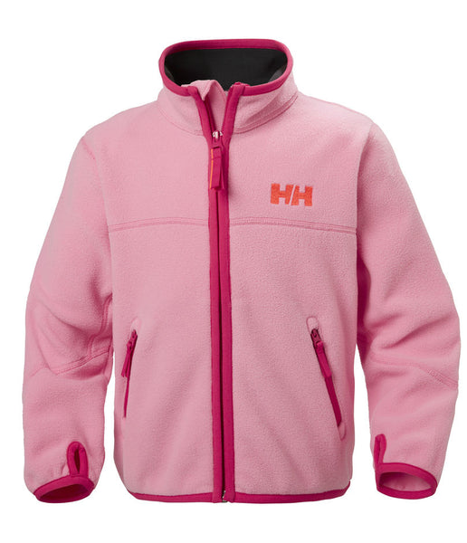 KID'S FLEECE JACKET- PINK CARNATION