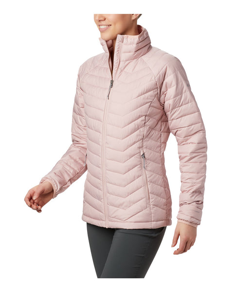 WOMEN'S POWDER LITE JACKET - DUSTY PINK