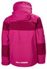 KID'S SALT PORT JACKET - VERY BERRY (AGES 8 & 10)