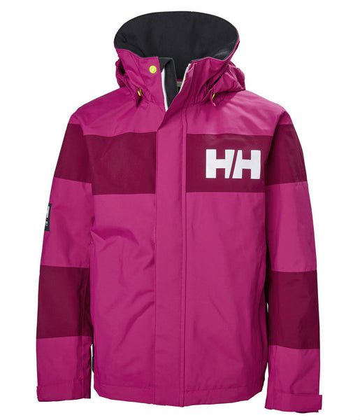 JUNIOR SALT PORT JACKET - VERY BERRY (AGES 12, 14 & 16)