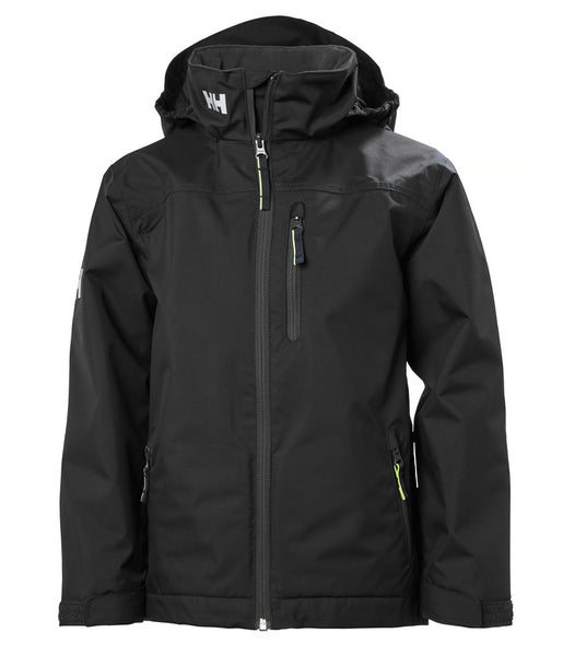 JUNIOR CREW MIDLAYER JACKET - NAVY