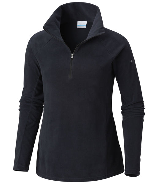 WOMEN'S GLACIAL IV 1/2 ZIP FLEECE - BLACK