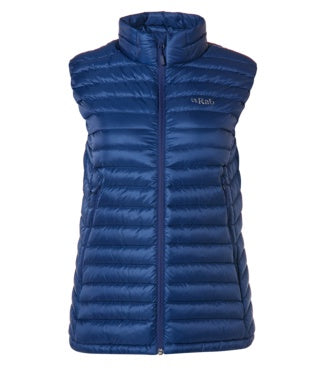 WOMEN'S MICROLIGHT VEST - BLUEPRINT/CELESTE