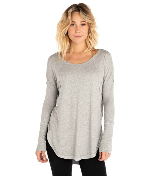 WOMEN'S SALTED LONG SLEEVE TEE