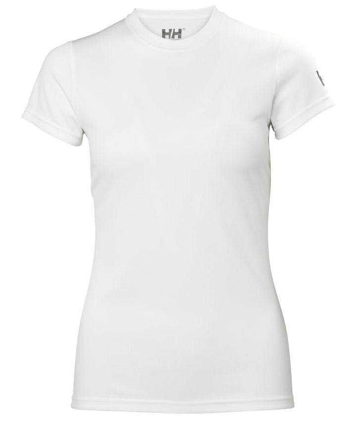 WOMEN'S HH TECH TEE - WHITE