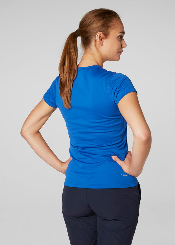 WOMEN'S HH TECH TEE - OLYMPIAN BLUE