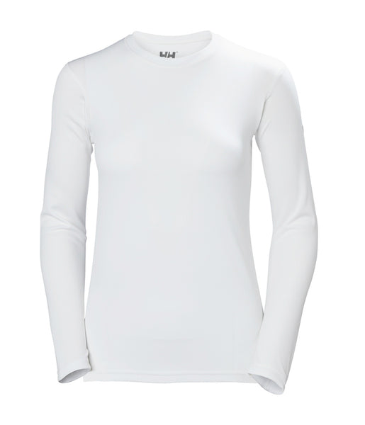 WOMEN'S HH TECH CREW - WHITE