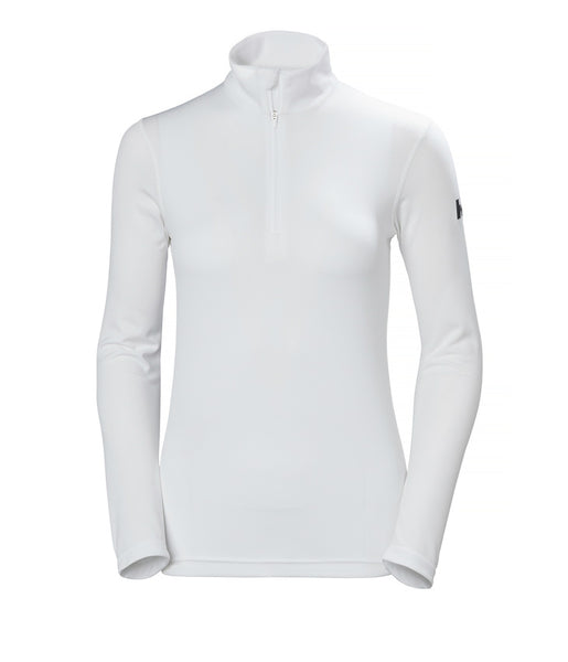 WOMEN'S HH TECH 1/2 ZIP - WHITE