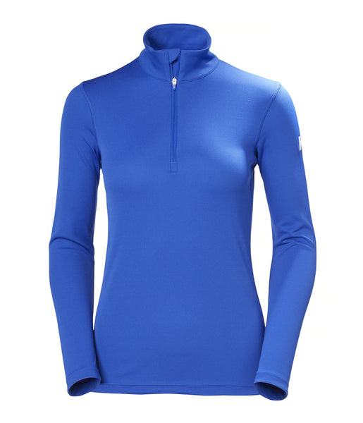WOMEN'S HH TECH 1/2 ZIP - OLYMPIAN BLUE