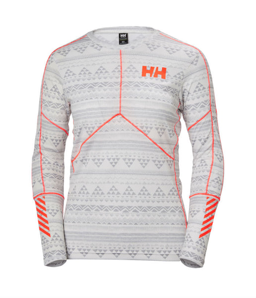 WOMEN'S HH LIFA ACTIVE GRAPHIC CREW