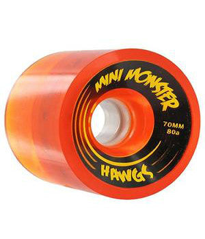 HAWGS WHEELS MINI MONSTER HAWGS 80A ORANGE 70 MM