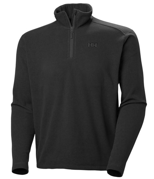 DAYBREAKER 1/2 ZIP FLEECE - BLACK