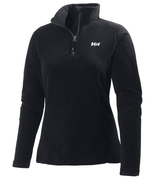 WOMEN'S DAYBREAKER 1/2 ZIP FLEECE - BLACK