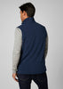 DAYBREAKER FLEECE VEST - EVENING BLUE