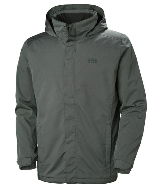 DUBLINER INSULATED JACKET - BLACK MELANGE
