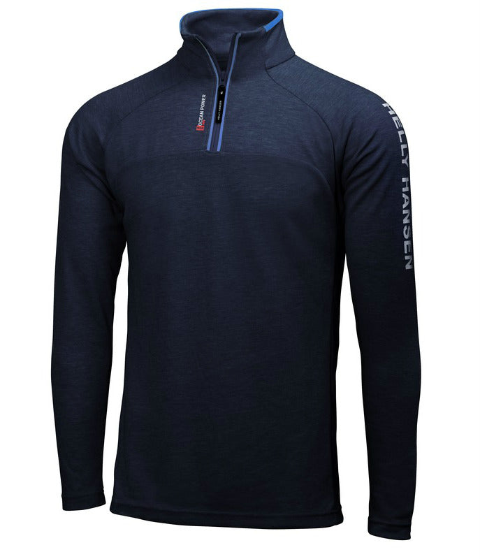 HP 1/2 ZIP PULLOVER - NAVY