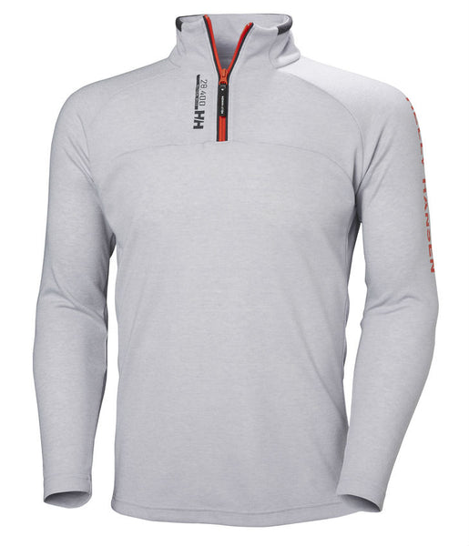 HP 1/2 ZIP PULLOVER - GREY FOG