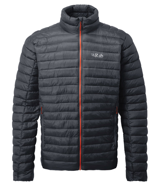 MEN'S ALTUS JACKET - BELUGA/ZINC RED