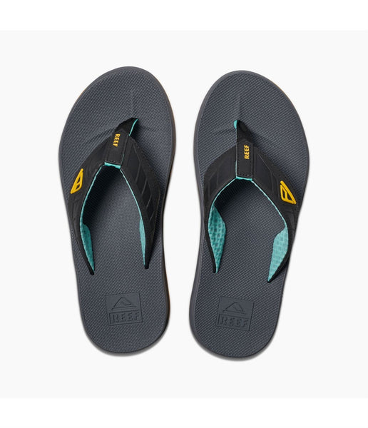 MEN'S PHANTOMS FLIP FLOPS- GREY/LIGHT BLUE