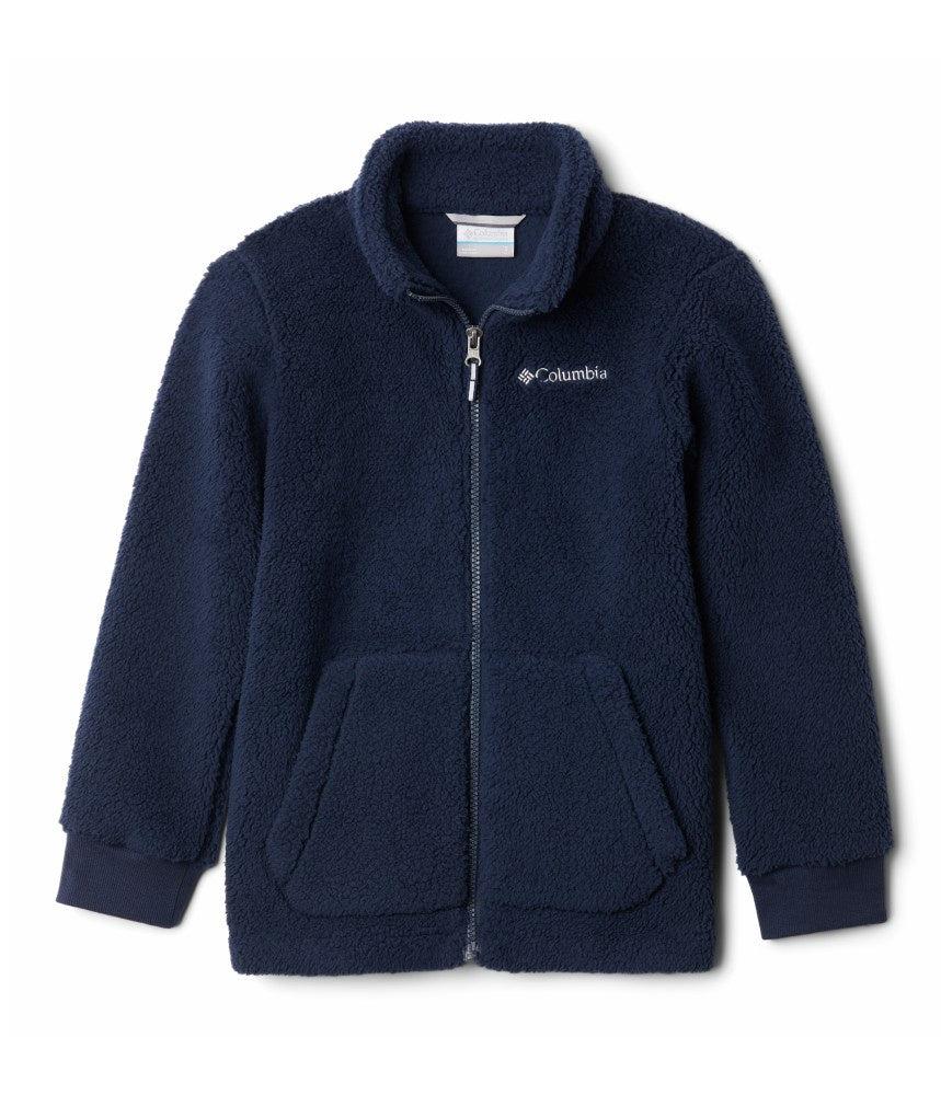 BOY'S RUGGED RIDGE II SHERPA FULL ZIP (AGES 10-16) - COLLEGIATE NAVY