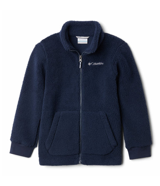 BOY'S RUGGED RIDGE II SHERPA FULL ZIP (AGES 4-10) - COLLEGIATE NAVY
