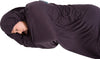 THERMOLITE STRETCH SLEEPING BAG LINER WITH HOOD- GREY