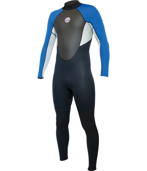 MEN'S IMPACT 3:2MM FULL SUIT - ROYAL BLUE