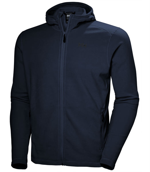 DAYBREAKER HOODED FLEECE JACKET - NAVY