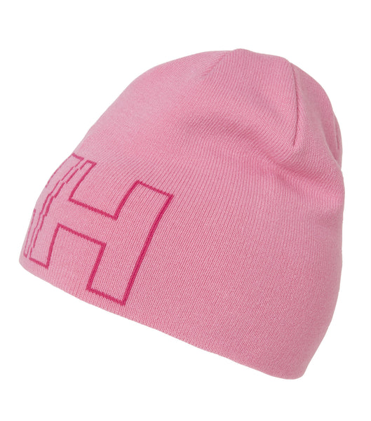KID'S OUTLINE BEANIE - PINK CARNATION