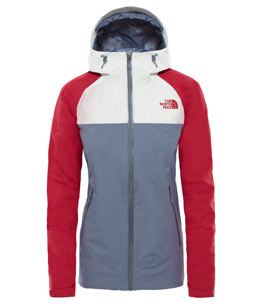 WOMEN'S STRATOS JACKET - GRISAILLE GREY/TNG/RMBRD