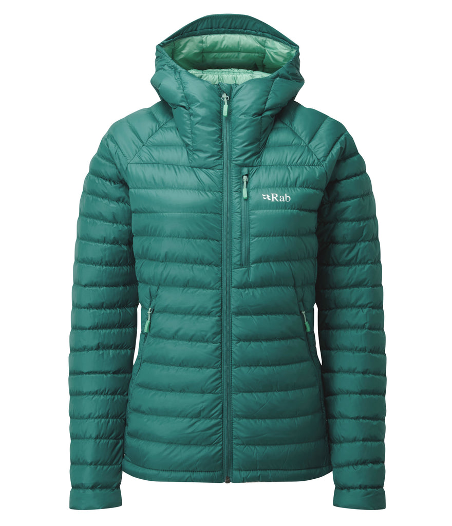 WOMEN'S MICROLIGHT ALPINE JACKET  - ATLANTIS/CASCADE