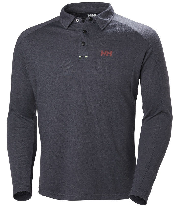 HP SHORE LS RUGGER - GRAPHITE BLUE