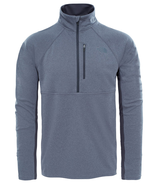 MEN'S AMBITION 1/4 ZIP - MEDIUM GREY HEATHER