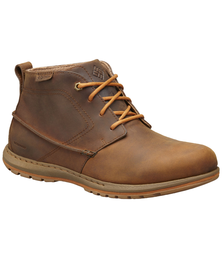 DAVENPORT CHUKKA WATERPROOF LEATHER BOOT - ELK