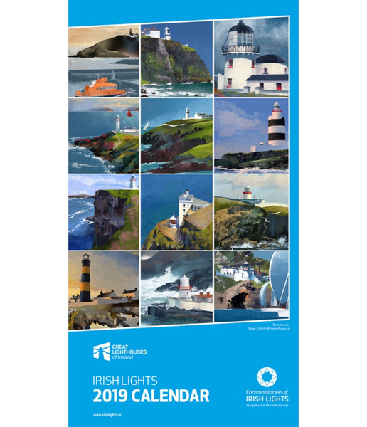 LIGHTHOUSES OF IRELAND CALENDAR