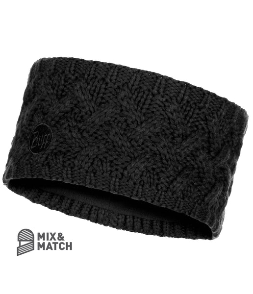 SAVVA BLACK [KNITTED HEADBAND]