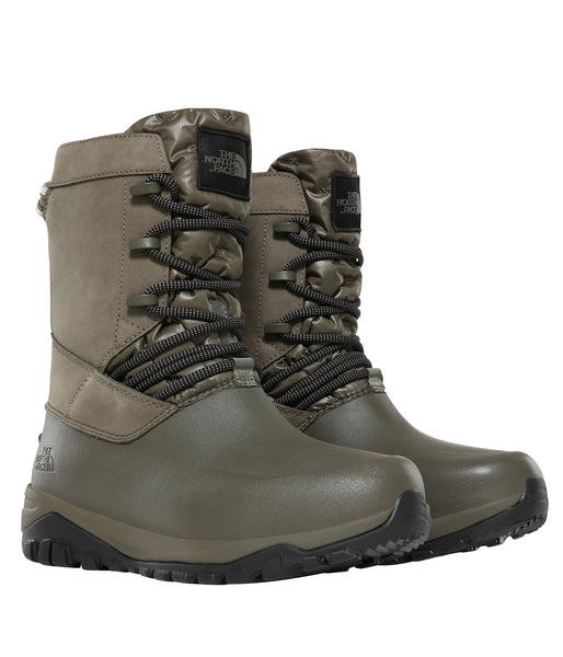 WOMEN'S YUKIONA MID BOOT - NEW TAUPE GREEN/TNF BLACK