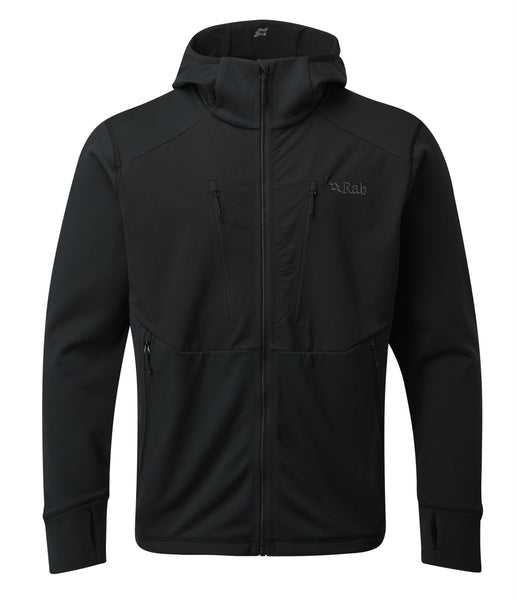 MEN'S MEGAFLUX JACKET - BLACK
