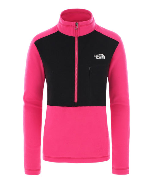 WOMEN'S BLOCKED TKA 1/4 ZIP FLEECE
