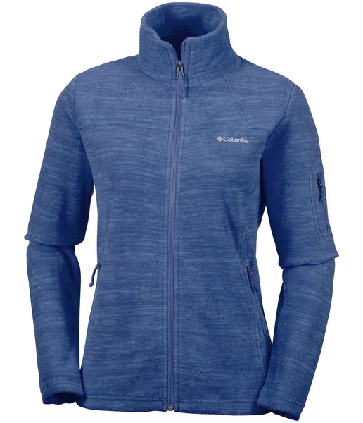 WOMEN'S FAST TREK PRINTED FLEECE JACKET - NOCTURNAL