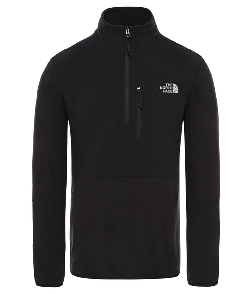 MEN'S GLACIER PRO 1/4 ZIP - TNF BLACK